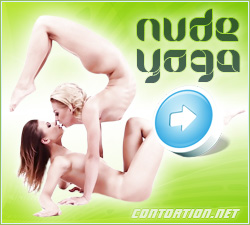 Hot nude yoga video