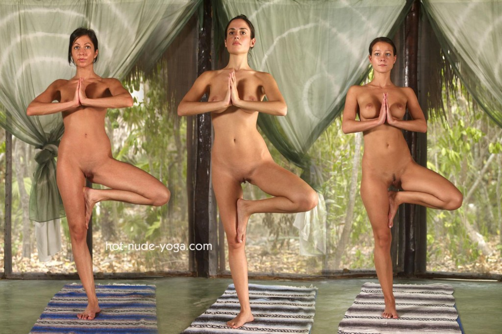 nude yoga girls
